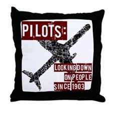 pilots1 Throw Pillow