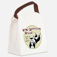 bostonnonsportingred2 Canvas Lunch Bag