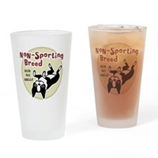 bostonnonsportingred2 Drinking Glass