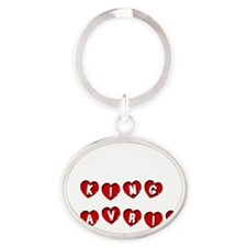 KING CAVRIN Oval Keychain
