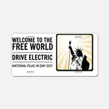 10x10_apparel Aluminum License Plate