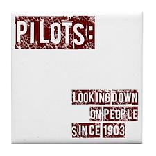 pilots2 Tile Coaster