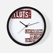 pilots2 Wall Clock
