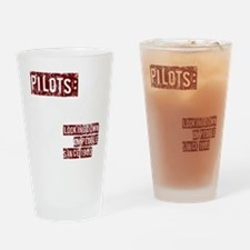 pilots2 Drinking Glass