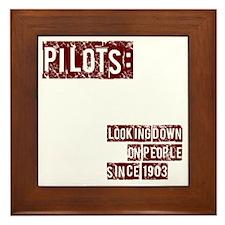 pilots2 Framed Tile