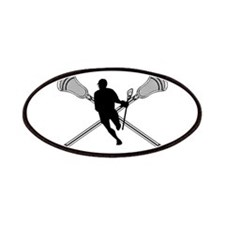 Lacrosse Attackman Patches