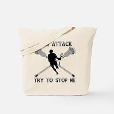 Lacrosse Attackman Tote Bag