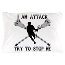 Lacrosse Attackman Pillow Case