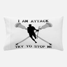 Lacrosse Attackman Pillow Case