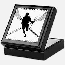 Lacrosse Attackman Keepsake Box