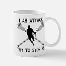 Lacrosse Attackman Mug
