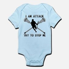 Lacrosse Attackman Infant Bodysuit