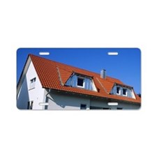 Housing in Gruol, Southern  Aluminum License Plate