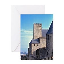 Gives views to La Cite and the count Greeting Card