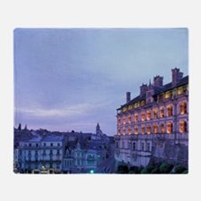 Cher. Chateau de Blois. Facade des L Throw Blanket