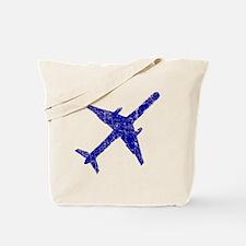 plane-distressed4 Tote Bag