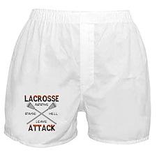 Lacrosse Attack Boxer Shorts