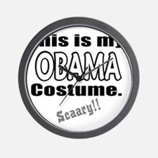 ThisIsMy_Obama_Costume Wall Clock