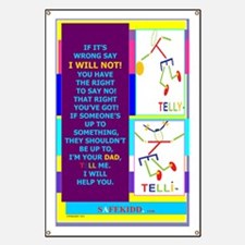 P.I will not Dad TY.TI. Banner