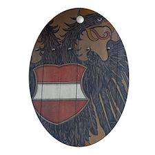 Historic 11th century Imperial Castl Oval Ornament