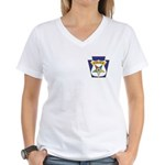 OES Law Enforcement Women's V-Neck T-Shirt