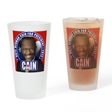 CAIN_button_cp Drinking Glass