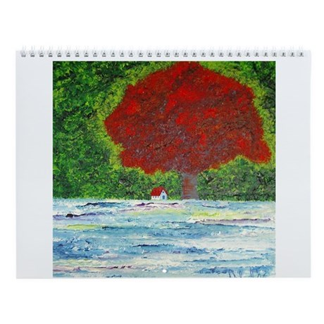 Trees and Nature Wall Calendar