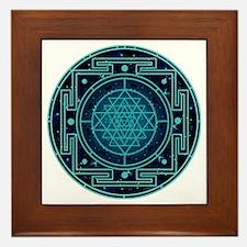 StarrySkyYantra Framed Tile