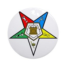 oes1 Round Ornament