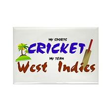 West Indies Cricket Rectangle Magnet