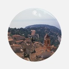 Cote D'Azur / French Riviera Round Ornament