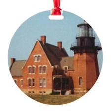 Block Island Light II Ornament