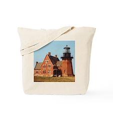 Block Island Light II Tote Bag