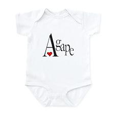 Agape Infant Bodysuit