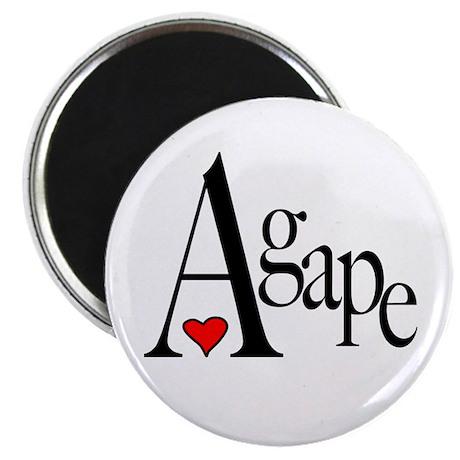 Agape Magnet