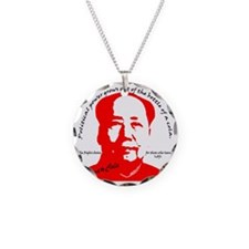 red mao Necklace