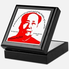 red mao Keepsake Box