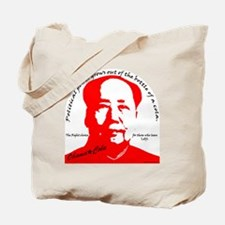 red mao Tote Bag