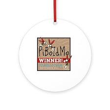 PiBoIdMo mug Round Ornament