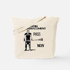 Lacrosse Defense Pass Tote Bag