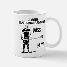 Lacrosse Defense Pass Mug