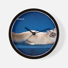 Birman Wall Clock