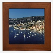 Europe, France, Cote D'Azure, Villefra Framed Tile