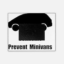 Prevent Minivans Black Picture Frame