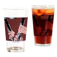 Clarinet Hands a Shirt Drinking Glass
