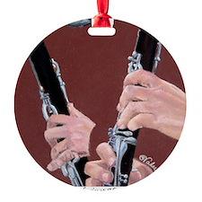 Clarinet Hands a Shirt Ornament