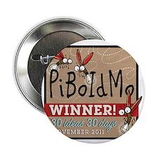 "PiBoIdMo T-shirt 200 dpi 2.25"" Button"