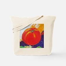 red tomato Tote Bag