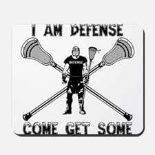 Lacrosse Defense GETSOME Mousepad