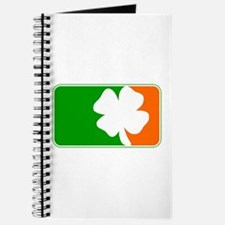 Irish Shamrock Logo Journal